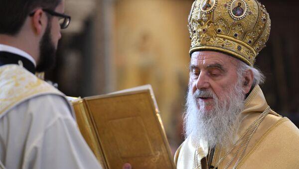 El patriarca serbio, Ireneo I - Sputnik Mundo