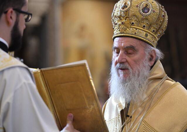 El patriarca serbio, Ireneo I