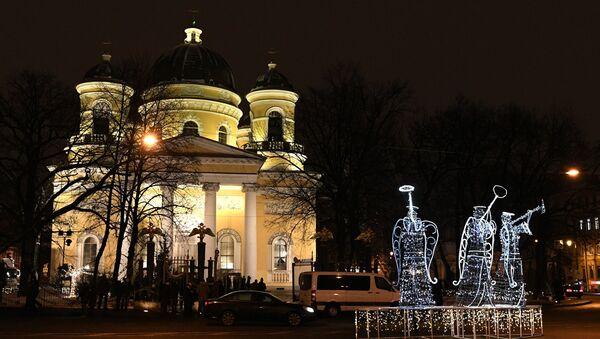 La Catedral de la Transfiguración en San Petersburgo - Sputnik Mundo