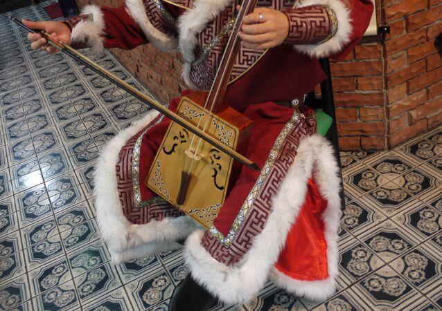 Morin juur, instrumento musical de cuerda frotada tradicional de Mongolia