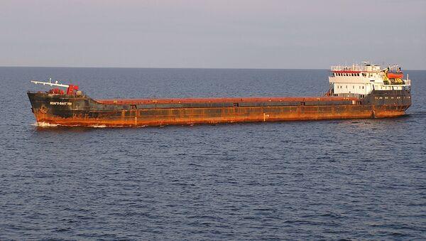 Un buque de carga Volgo Balt (archivo) - Sputnik Mundo