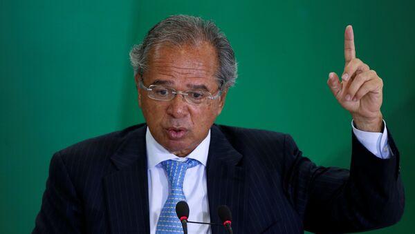 Paulo Guedes, ministro de Economía de Brasil - Sputnik Mundo