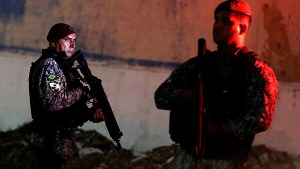Agentes de la Fuerza Nacional de Brasil - Sputnik Mundo