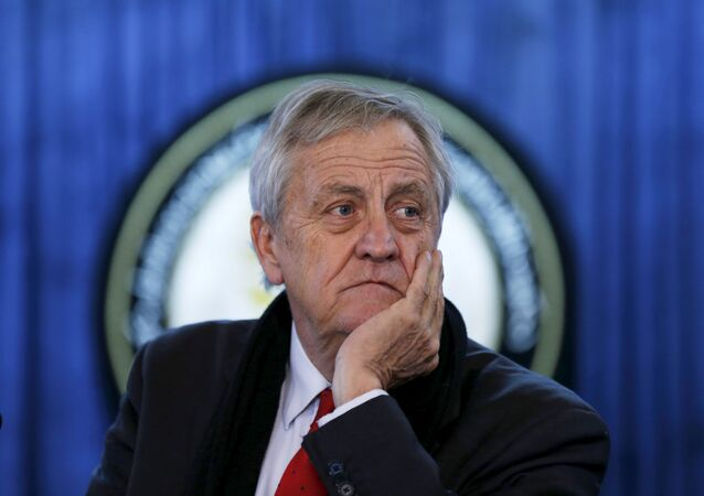 Nicholas Haysom, Representante Especial del Secretario General de Naciones Unidas en Somalia