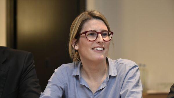 Elsa Artadi, portavoz del Gobierno catalán - Sputnik Mundo
