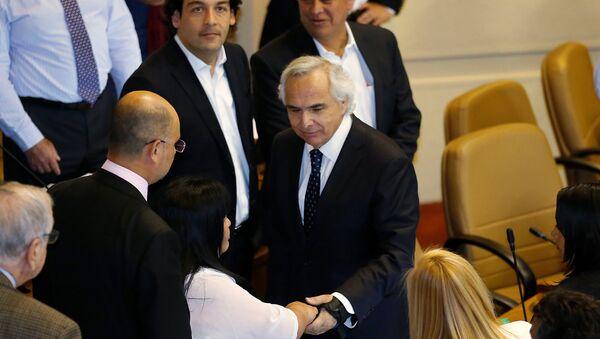 Andrés Chadwick, ministro del Interior de Chile - Sputnik Mundo