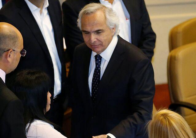 Andrés Chadwick, ministro del Interior de Chile