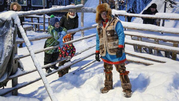 Una aldea saami perdida en la región rusa de Múrmansk - Sputnik Mundo