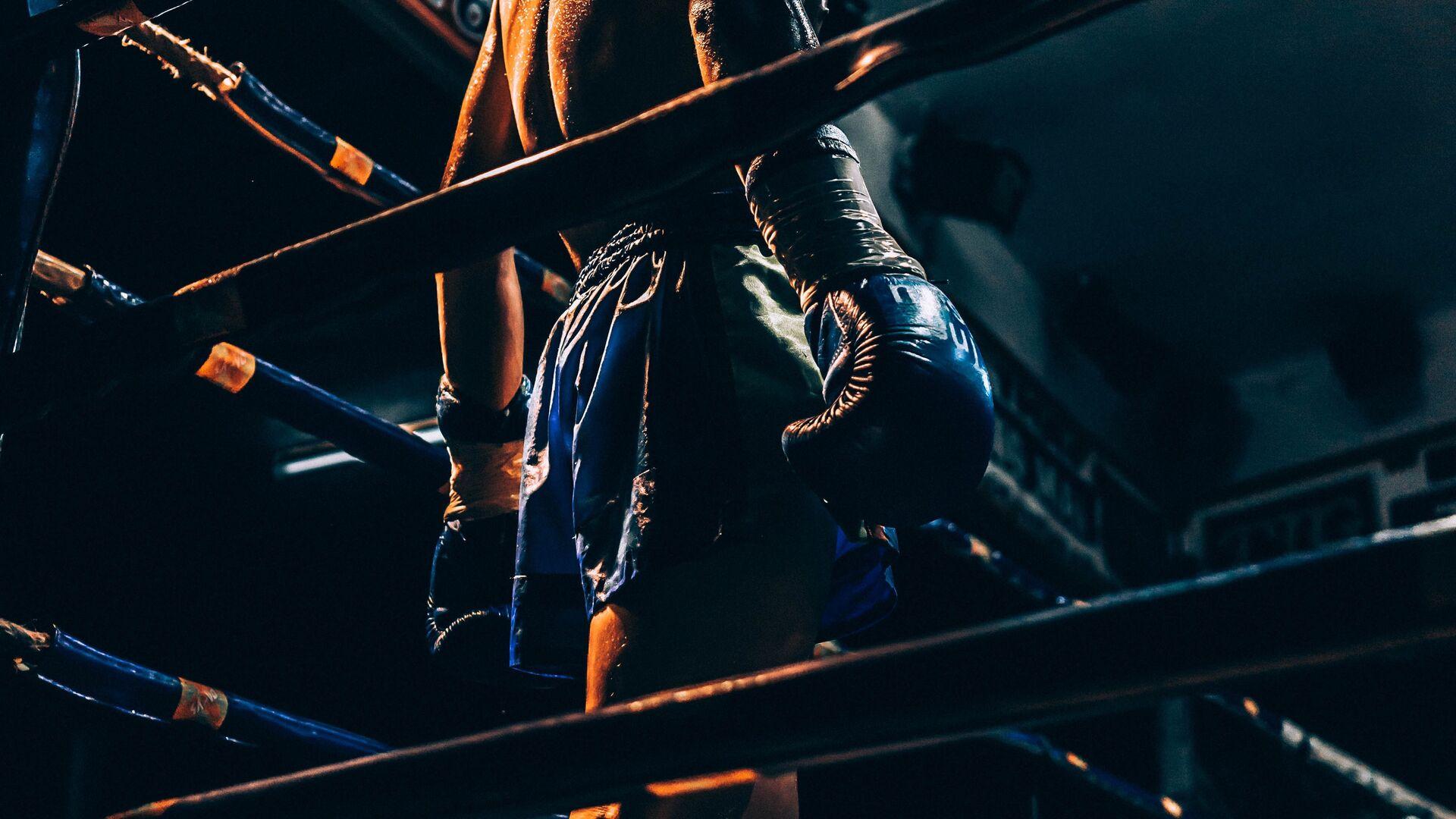 Un luchador de artes marciales mixtas, imagen referencial - Sputnik Mundo, 1920, 23.04.2021
