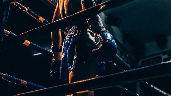 Un luchador de artes marciales mixtas, imagen referencial - Sputnik Mundo