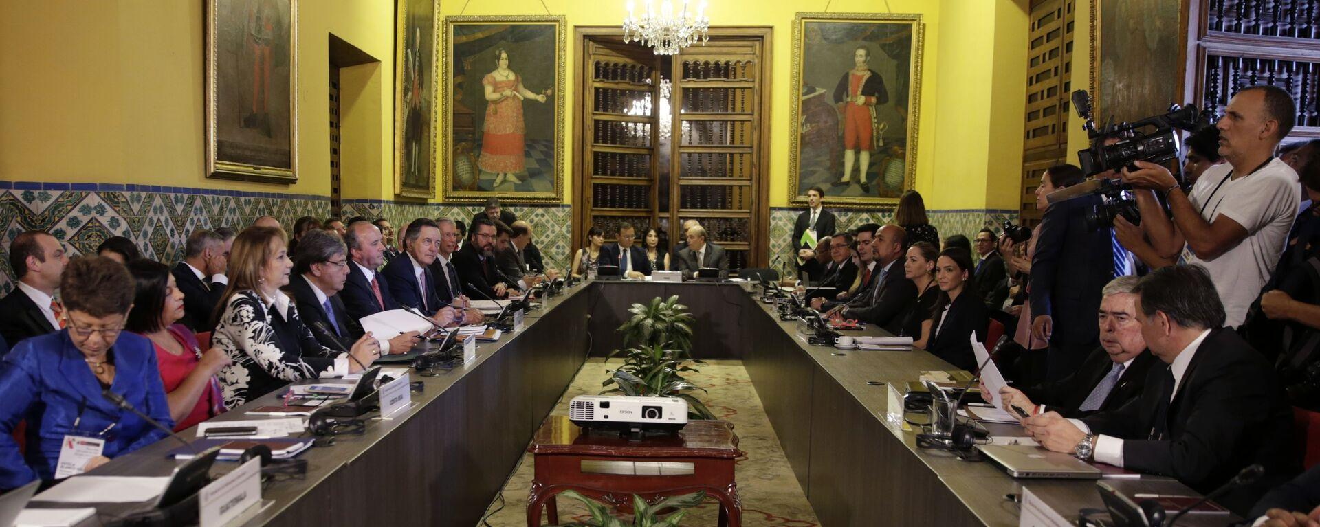 La cumbre del Grupo de Lima en la capital peruana - Sputnik Mundo, 1920, 10.08.2021