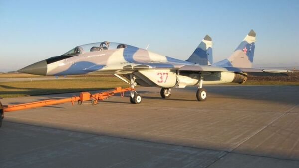 Caza MiG-29UB a la venta - Sputnik Mundo