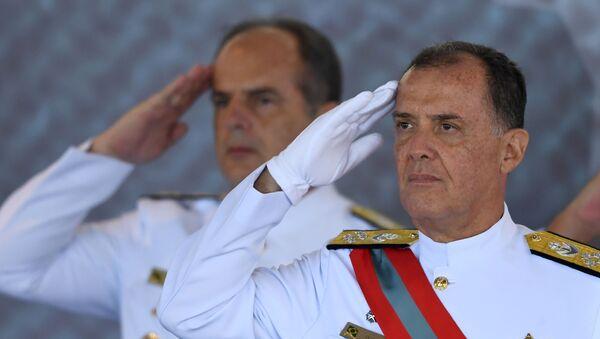 Ilques Barbosa Júnior, el nuevo comandante jefe de la Marina de Brasil - Sputnik Mundo