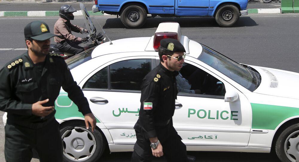 Policía de Irán (archivo)