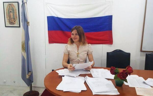 Tamara Yevtushenko - Sputnik Mundo