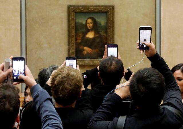 Mona Lisa en Louvre