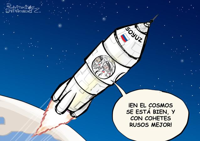 EEUU busca 'conquistar' el espacio, pero con las naves rusas