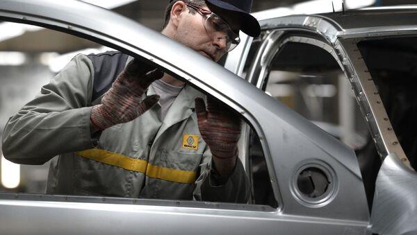 Producción automotriz (imagen referencial) - Sputnik Mundo