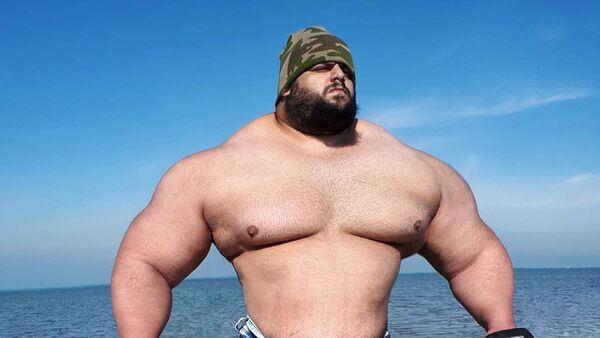 Sajad Gharibi, luchador iraní - Sputnik Mundo