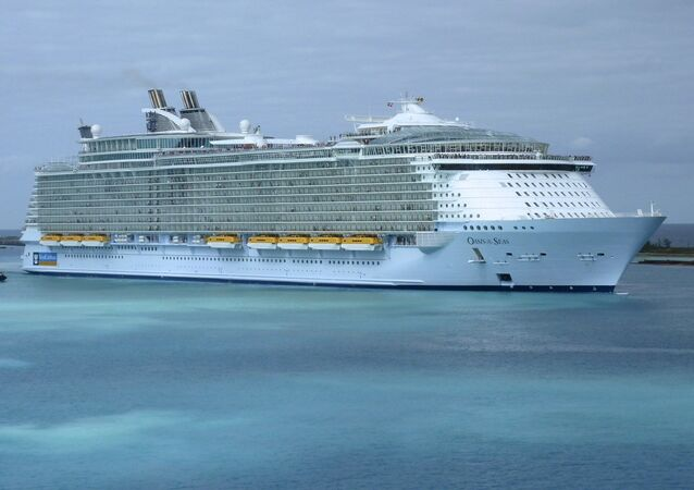 Buque de crucero Oasis of the Seas, foto archivo