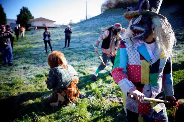 Mascarada de invierno La Vijanera - Sputnik Mundo