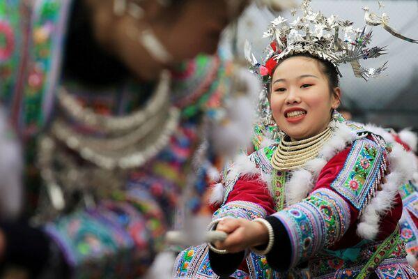 Festividades de Año Nuevo en la provincia china de Guangxi - Sputnik Mundo