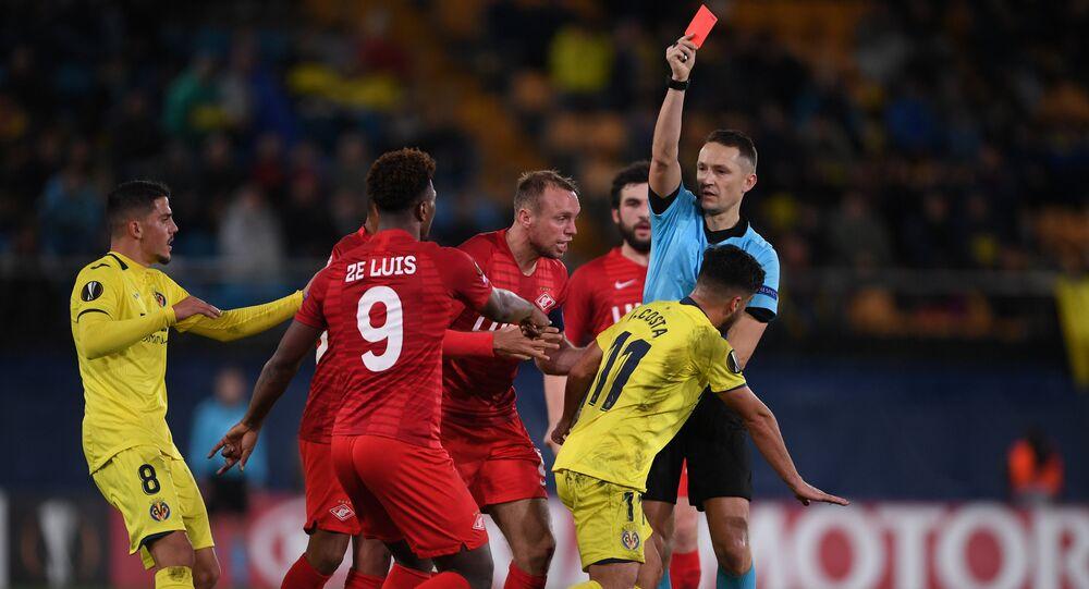 El partido entre Villarreal y Spartak
