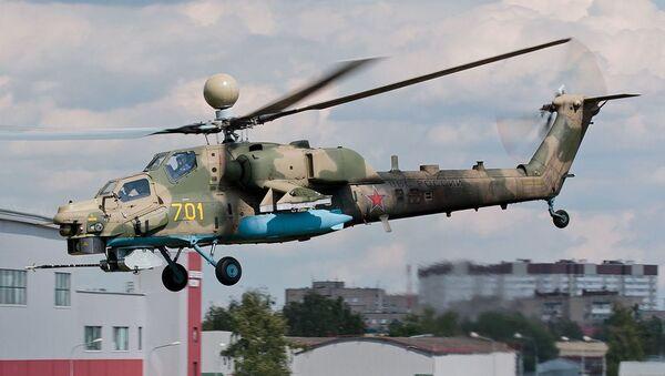Helicóptero de ataque ruso Mi-28NM - Sputnik Mundo