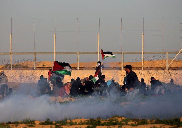 La situación en Franja de Gaza (archivo)