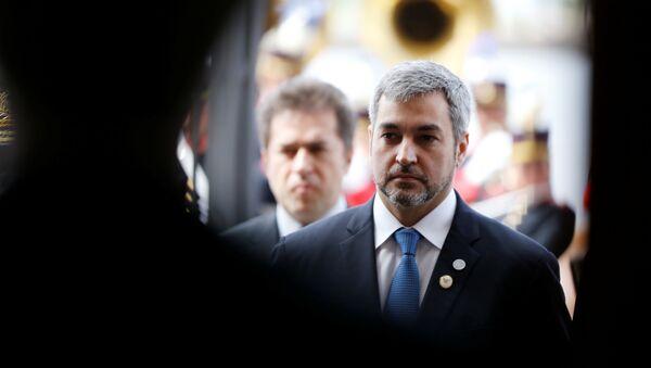 El presidente de Paraguay, Mario Abdo Benítez - Sputnik Mundo