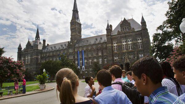 La Universidad de Georgetown - Sputnik Mundo