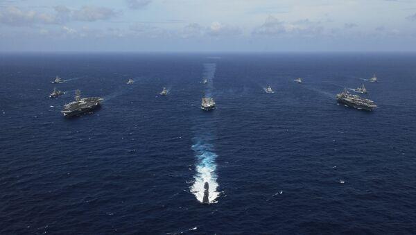 Las maniobras navales en el Golfo de Bengala - Sputnik Mundo