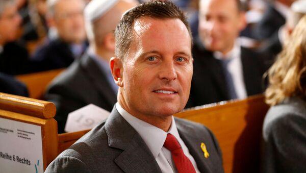 El embajador de Estados Unidos en Alemania, Richard Grenell - Sputnik Mundo