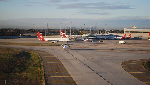 El aeropuerto de Melbourne - Sputnik Mundo