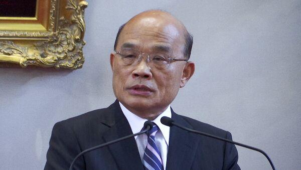 Su Tseng-chang, el nuevo primer ministro de Taiwán - Sputnik Mundo