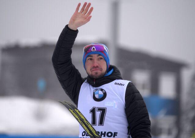 El biatleta ruso Alexandr Lóguinov
