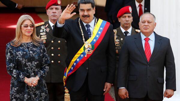 Nicolás Maduro, presidente de Venezuela, antes del discurso ante la Asamblea Nacional Constituyente (ANC) - Sputnik Mundo