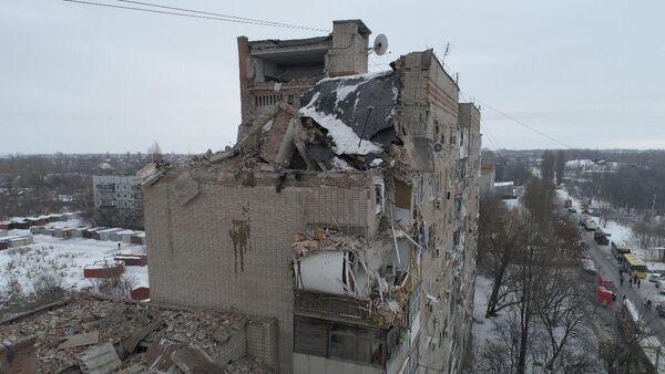 Explosión de gas en Shajti, Rusia - Sputnik Mundo