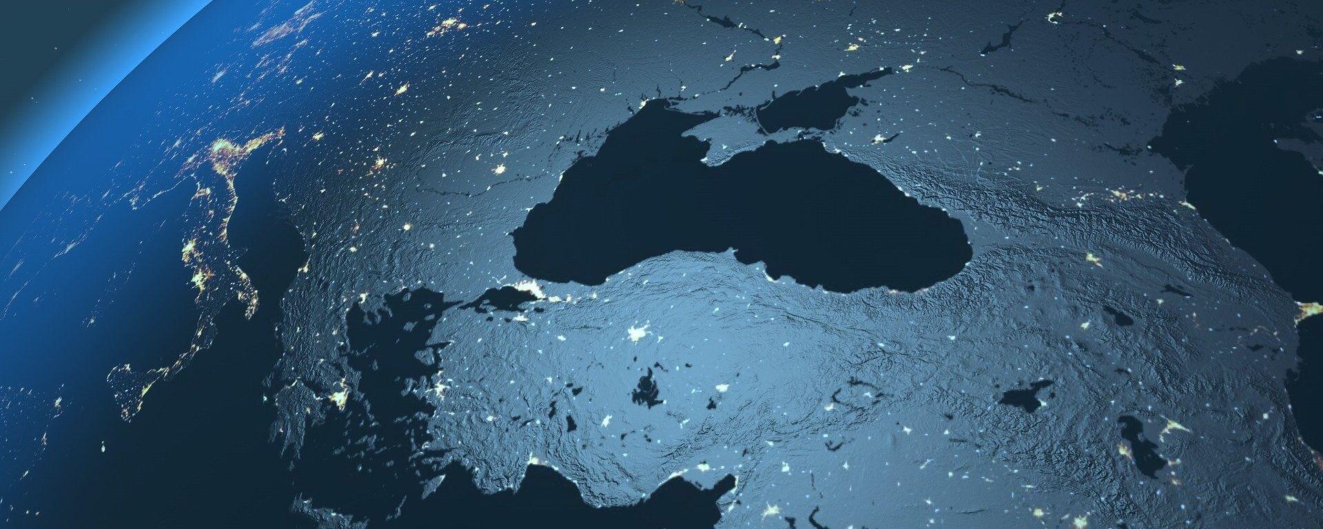 El mar Negro visto desde el espacio (imagen referencial) - Sputnik Mundo, 1920, 04.06.2021