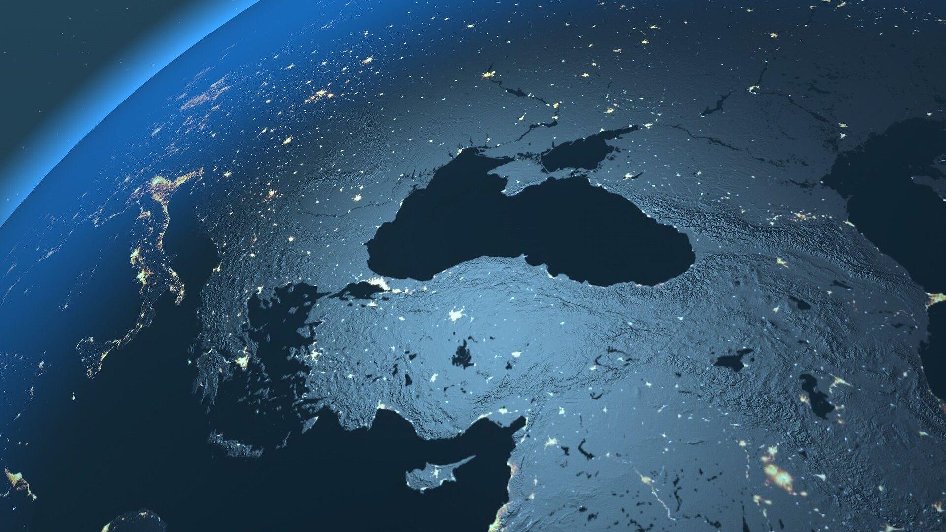 El mar Negro visto desde el espacio (imagen referencial) - Sputnik Mundo, 1920, 20.04.2021