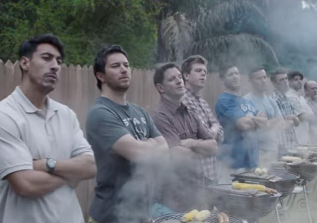 Captura de pantalla del anuncio de Gillette
