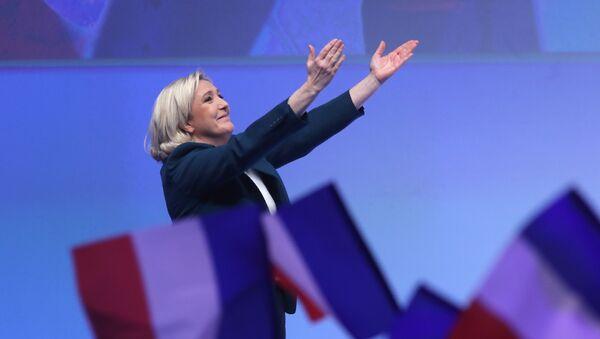Marine Le Pen, líder de Reagrupación Nacional - Sputnik Mundo