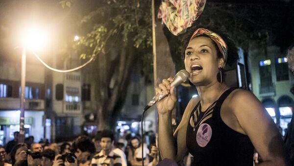Marielle Franco, consejala brasileña asesinada (archivo) - Sputnik Mundo