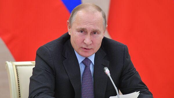 El presidente ruso, Vladímir Putin, en Kaliningrado - Sputnik Mundo
