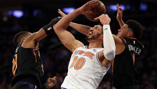 Enes Kanter, baloncestista de la NBA - Sputnik Mundo
