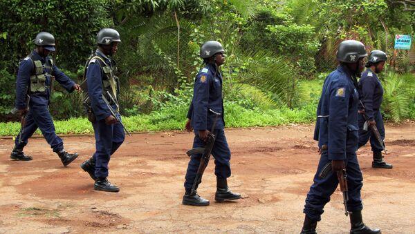 La policía de Zimbabue - Sputnik Mundo