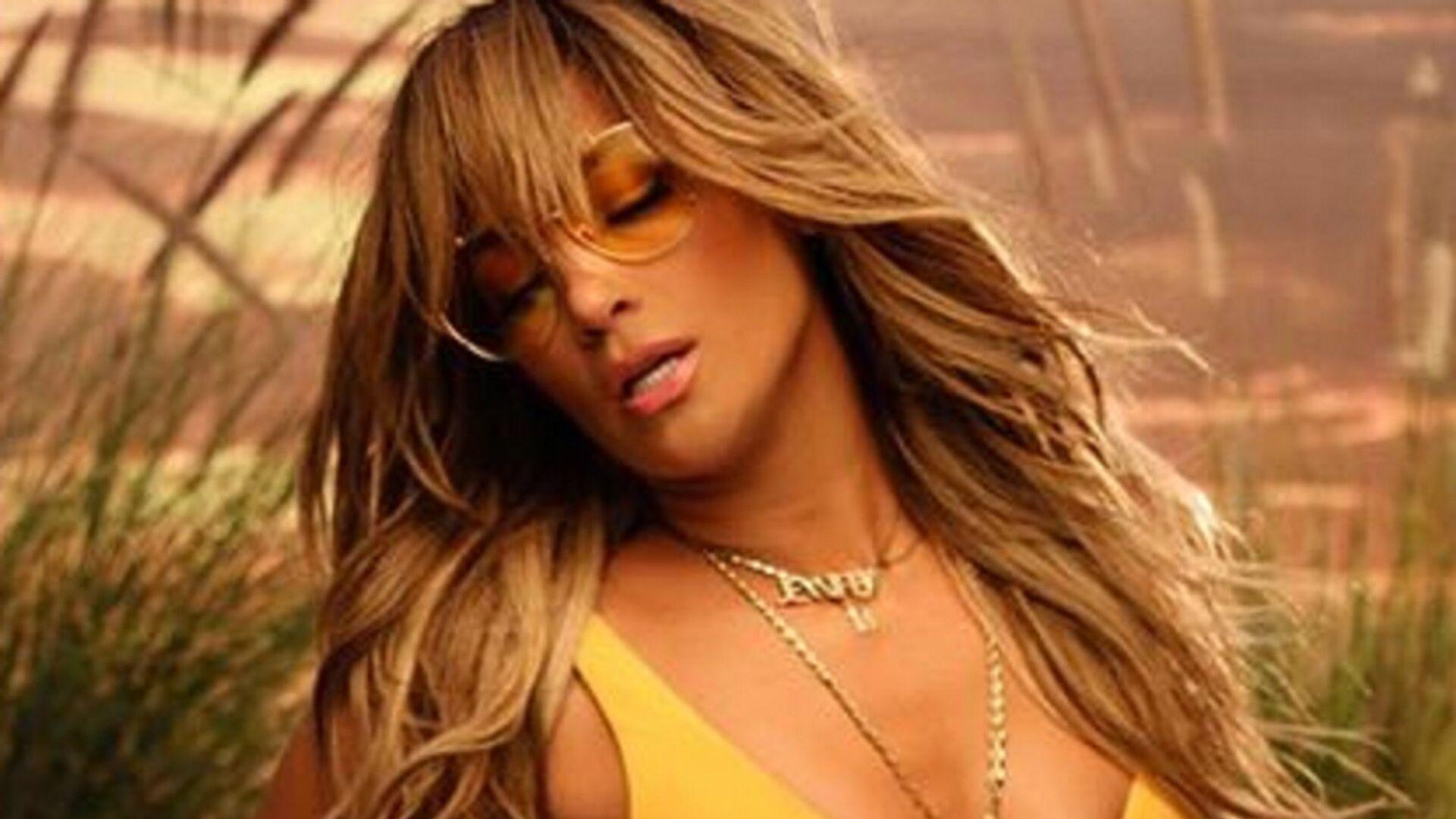 Jennifer Lopez, cantante y actriz estadounidense de origen puertorriqueño  - Sputnik Mundo, 1920, 06.07.2021