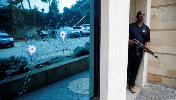 Lugar del atentado en Nairobi - Sputnik Mundo