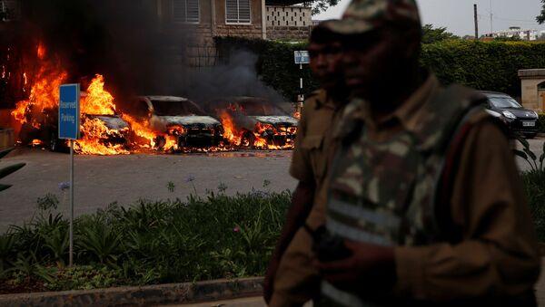 Atentado en Nairobi, Kenia - Sputnik Mundo