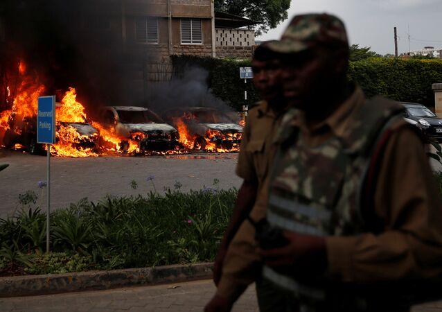 Atentado en Nairobi, Kenia
